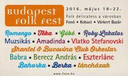Újabb helyszínekkel bővült a Budapest Folk Fest