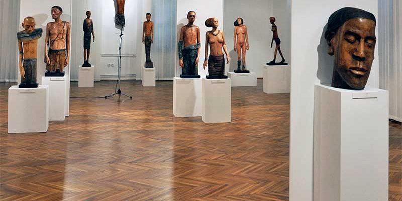 Jószay Zsolt szoborkiállítása