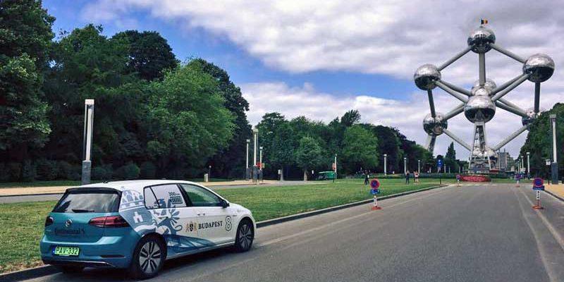 Budapestre érkezett az e-Tour Europe mezőnye