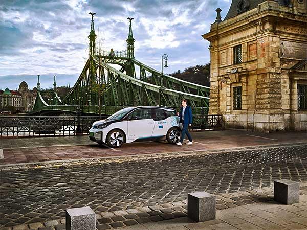 Budapestre jön a DriveNow prémium autómegosztó szolgáltatás