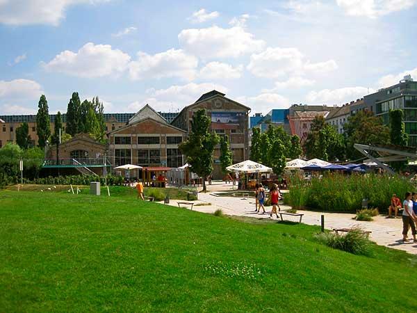 Modernizált a fővárosi Millenáris park