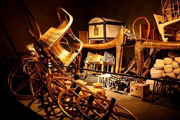 November elejétől megfigyelhető a Tutanhamon-kiállítás Budapesten