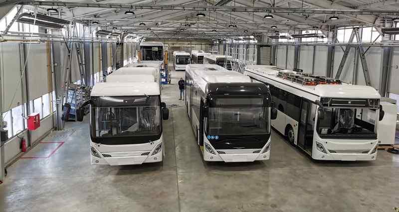 Elektromos Ikarus buszt tesztelnek Budapesten